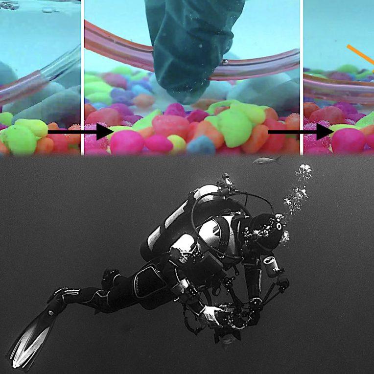 plastique autocicatrisant meme sous eau