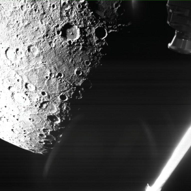 première image Mercure BepiColombo