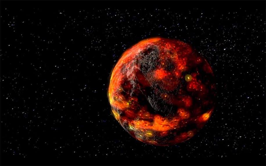 presence lave lune 2 milliards annees