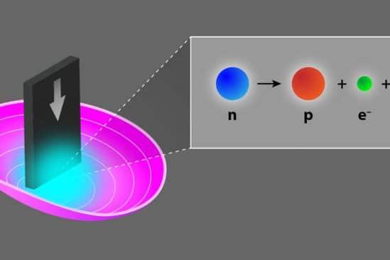 record mesure durée vie neutrons