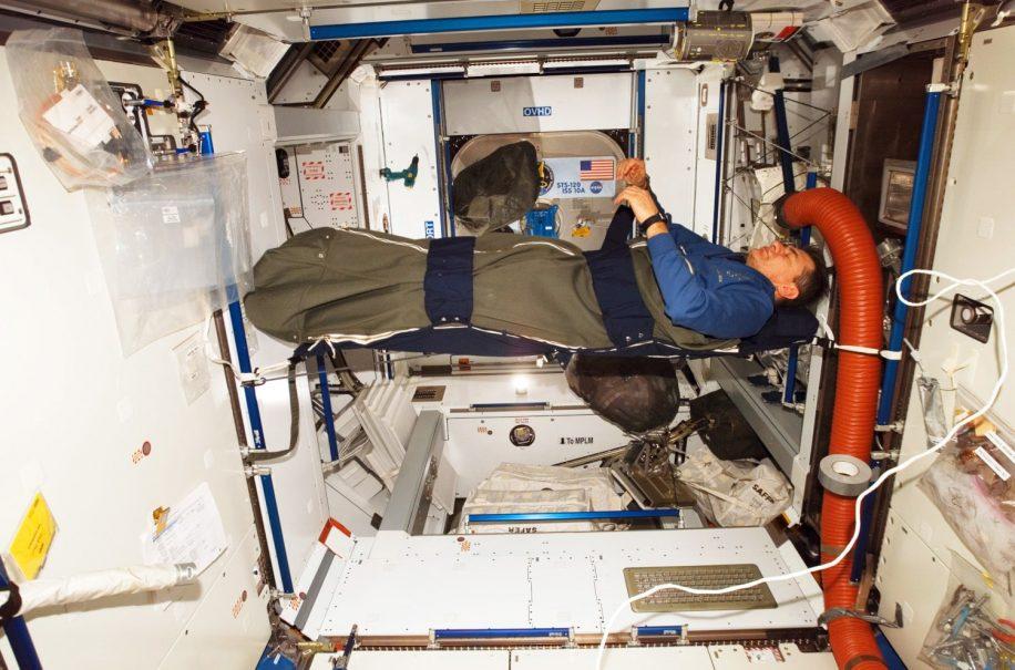 sommeil dormir dans l'espace